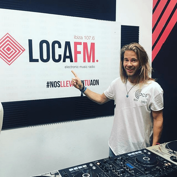 Joost Toast at LocaFM Ibiza