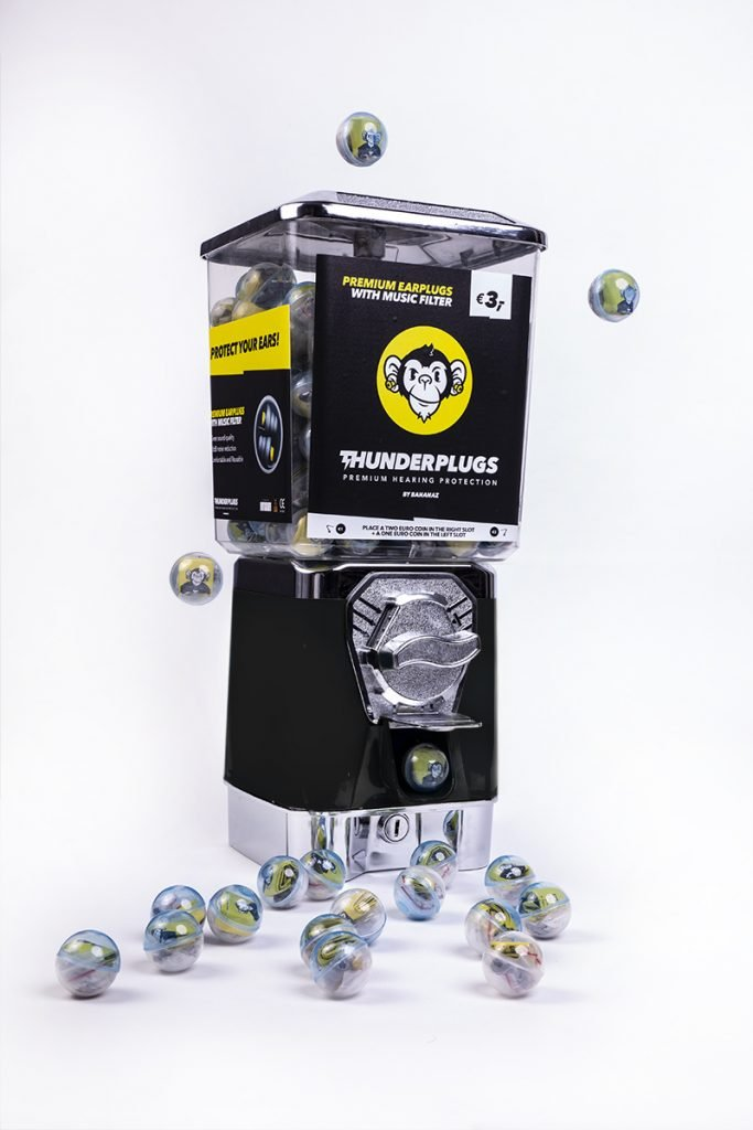 New Thunderplugs vending machine